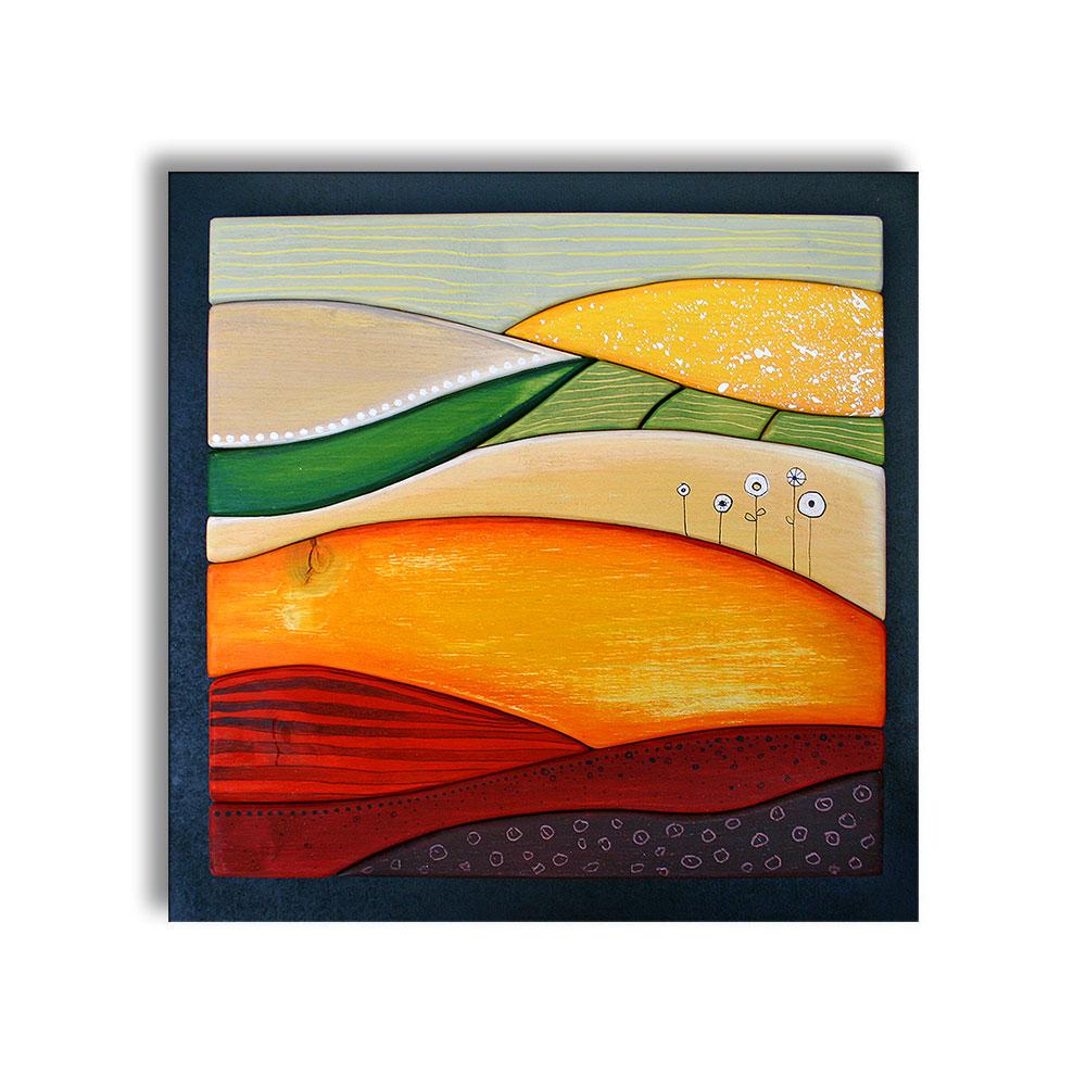 Sommerfelder · 35 x 35 cm