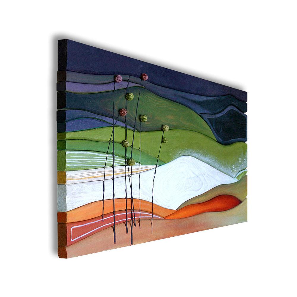 Landschaftszauber · 75 x 35 cm