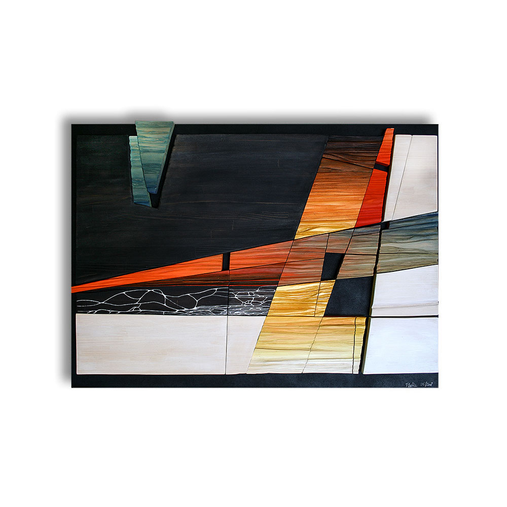 Ohne Titel · 90 x 65 cm